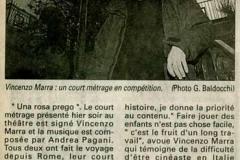"""""""Corse Matin"""" , Corsica - 17 Novembre 1999"""
