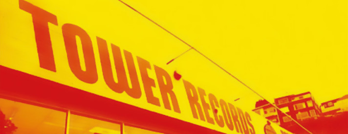 TOWER RECORD -Tokyo interview