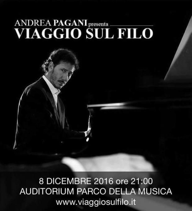 VIAGGIO SUL FILO – Auditorium Parco della musica, 8 Dicembre 2016