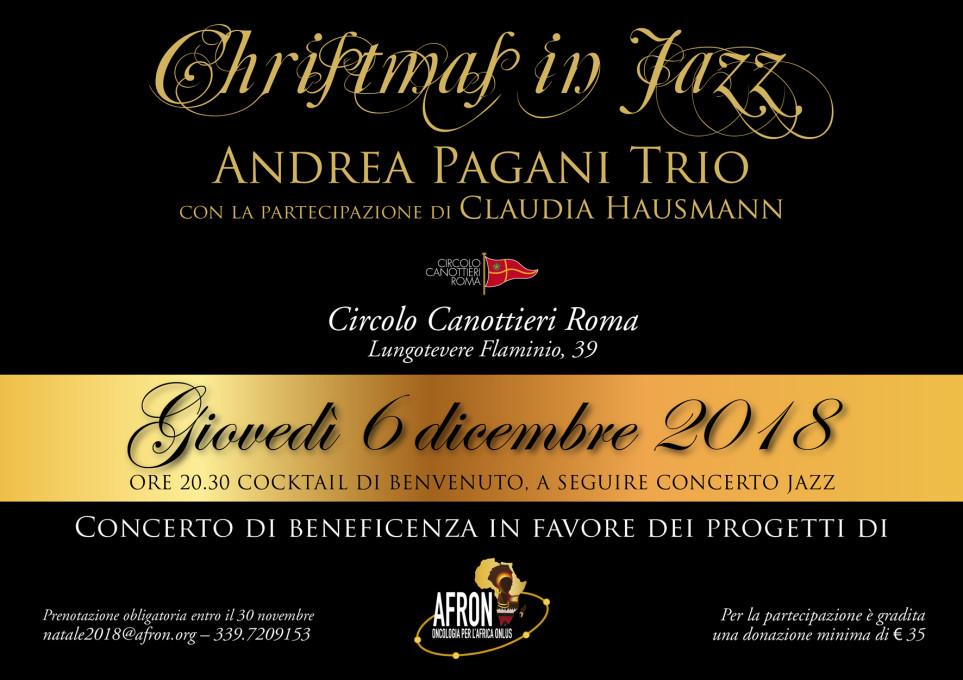 Andrea Pagani Trio – Christmas in Jazz